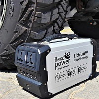 Flexopower (Panels and portable power pack)
