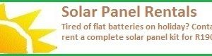 Solar Panel and Battery Box Rentals